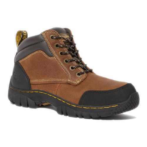 Dr Martens Riverton Brown Safety Boots